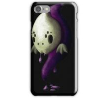 Slimey ghostly critterly thing iPhone Case/Skin