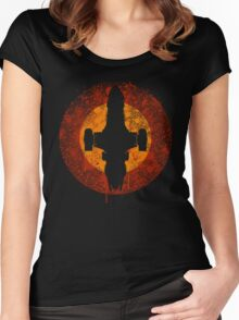 Serenity Eclipse Women's Fitted Scoop T-Shirt