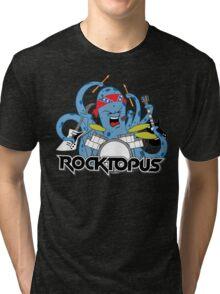 Rocktopus - Rocking Octopus Tri-blend T-Shirt