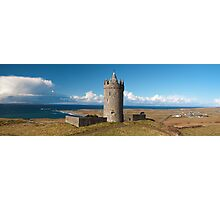 Panoramic Doolin Castle, County Clare, Ireland Photographic Print