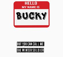 Hello My Name Is Bucky Unisex T-Shirt