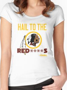 Hail to the Red****s!! Women's Fitted Scoop T-Shirt