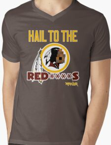 Hail to the Red****s!! Mens V-Neck T-Shirt