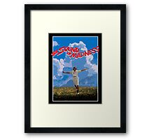 The Sound of Madness Framed Print