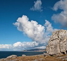 The Burren In Fanore, County Clare, Ireland by Noel Moore Up The Banner Photography