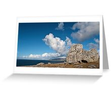 The Burren In Fanore, County Clare, Ireland Greeting Card