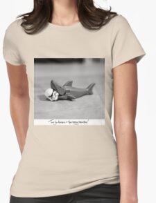 Shaaark! (Handwritten) Womens Fitted T-Shirt