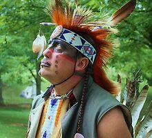 Native American Cherokee 1 by Linda Costello Hinchey