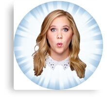 Comedian Amy Schumer Canvas Print