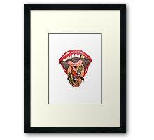 Dry Mouth in the Desert  Framed Print