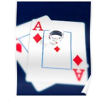 Poker Faces Poster