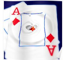 Aces Of Hearts Poster
