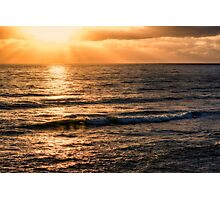 SUNBEAMS Photographic Print