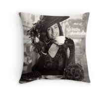 Anyone for Coffee! Throw Pillow
