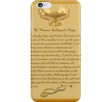 The Florence Nightingale Pledge iPhone Case/Skin