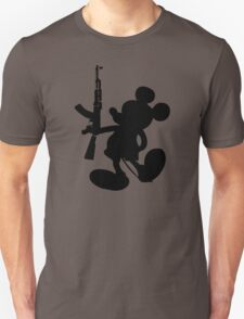 Mickey Mouse and the AK-47 T-Shirt