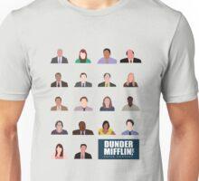 Dunder Mifflin Employee Headshots Unisex T-Shirt