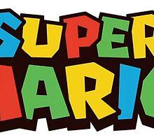 SUPER MARIO LOGO by PolFont
