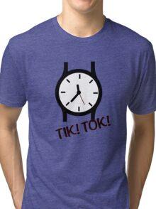 Time is precious Tri-blend T-Shirt