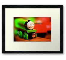 Go, Green Engine Framed Print