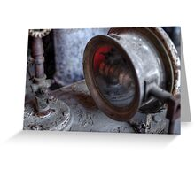 Under Pressure Greeting Card