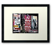 New York City I Framed Print
