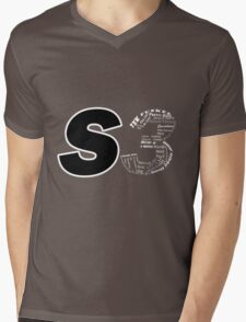 Castle S3 Mens V-Neck T-Shirt