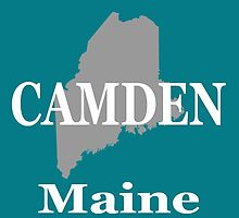 Camden Maine State City and Town Pride  by KWJphotoart