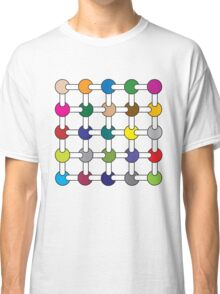 Optical Illusion Colour Spots Classic T-Shirt