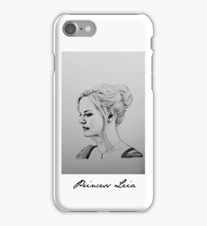 Princess Leia  iPhone Case/Skin