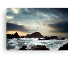 Corbiere Lighthouse, Jersey, Channel Islands Canvas Print