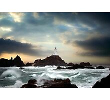 Corbiere Lighthouse, Jersey, Channel Islands Photographic Print