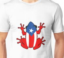 Coqui puerto rico geek funny nerd Unisex T-Shirt