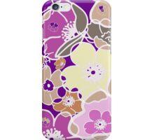 Flowers rainbow iPhone Case/Skin