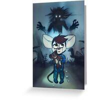 Monsters Among Us Greeting Card