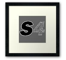 Castle S4 Framed Print