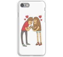The couple iPhone Case/Skin