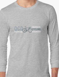 Cycling geek funny nerd Long Sleeve T-Shirt