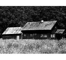 Hoh Cabin Photographic Print