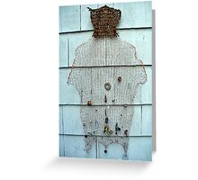 bear hug jingle dress Greeting Card