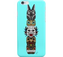 Colourful and Playful Totem Pole iPhone Case/Skin