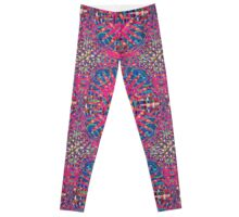Mandala Purple Burst Leggings