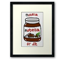 nutella Framed Print