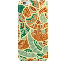 henna pattern cute iPhone Case/Skin