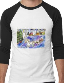 Rural Landscape 4 Men's Baseball ¾ T-Shirt