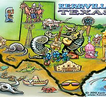 Kerrville Texas by Kevin Middleton