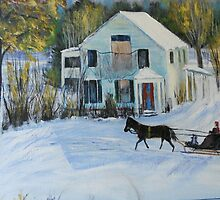 The Sleigh from HL Ross by Jsimone