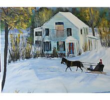 The Sleigh from HL Ross Photographic Print