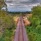 Tracks Ahead- a birdseye view by ECH52