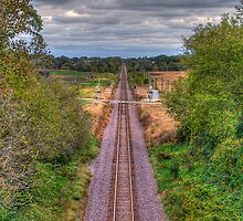 Tracks Ahead- a birdseye view by ECH52